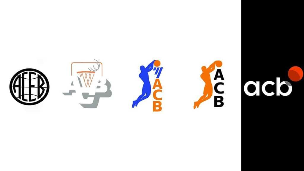 Evolución logotipo ACB