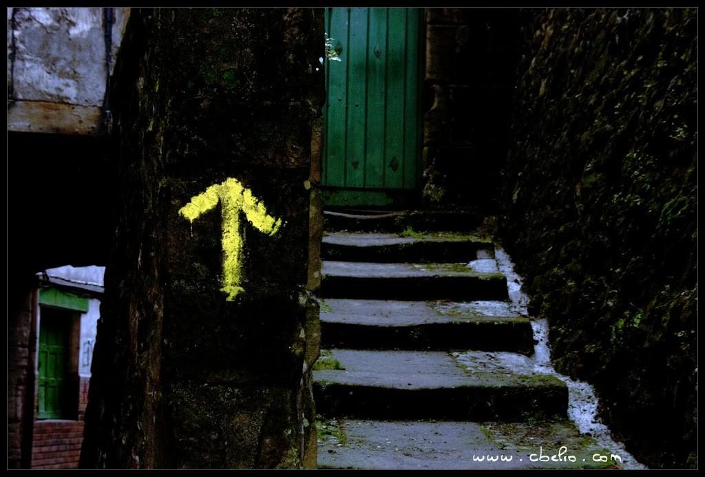 Siga la flecha