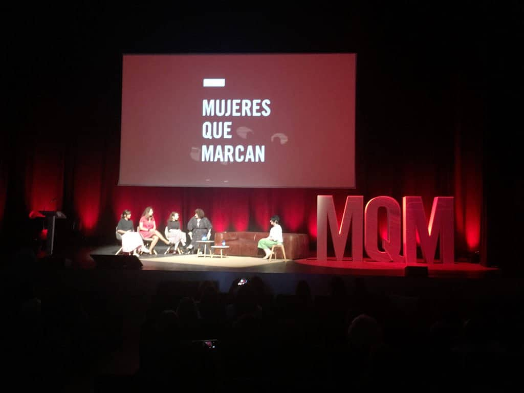 Mujeres que marcan
